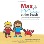 book cover: Max & Mila at the Beach